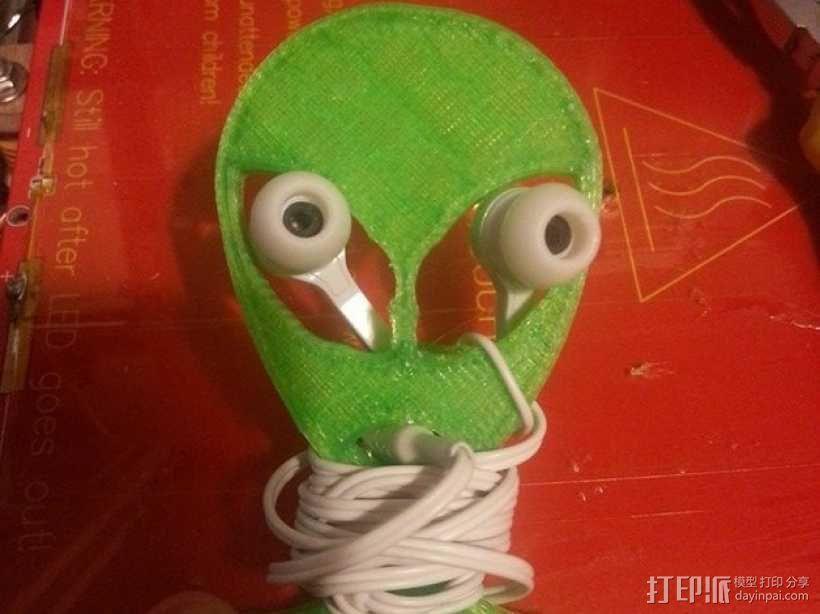 外星人绕线器 3D模型  图1