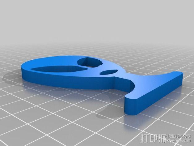外星人绕线器 3D模型  图2