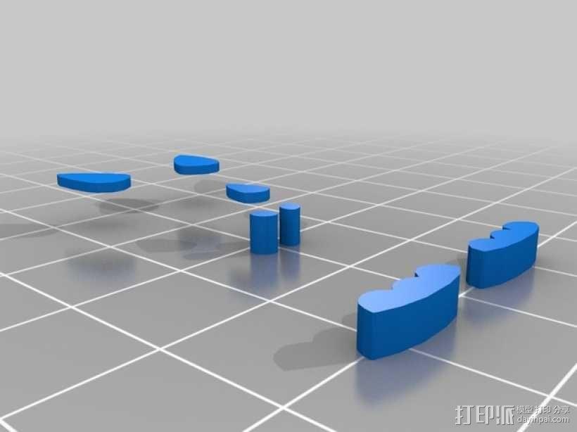 恐龙绕线器 3D模型  图2