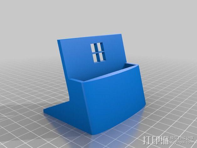 Nokia 520手机座 3D模型  图1