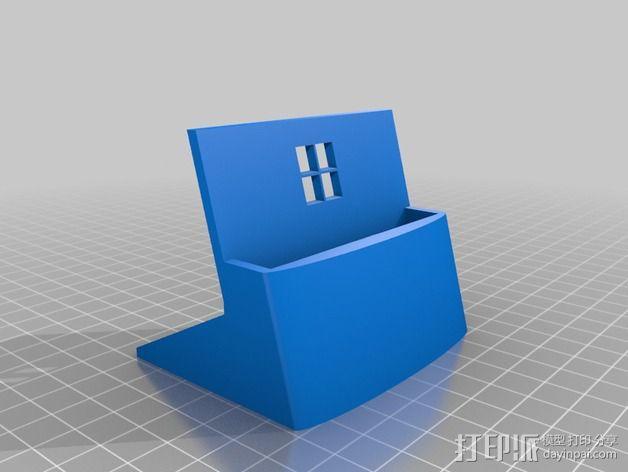 Nokia 928手机座 3D模型  图2