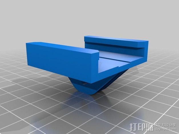 GoPro衔接器 3D模型  图3