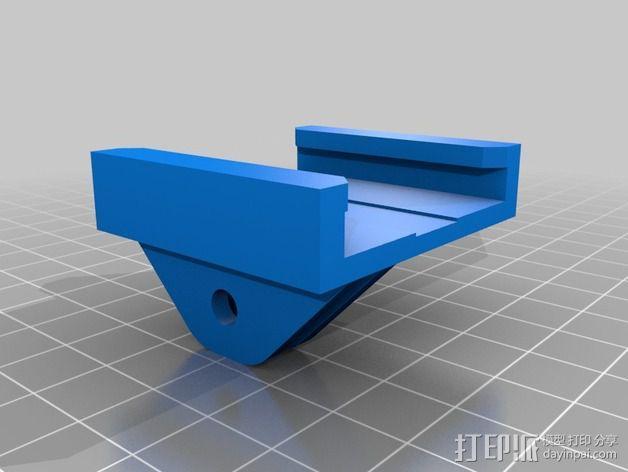 GoPro衔接器 3D模型  图2