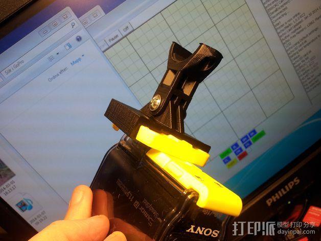 GoPro衔接器 3D模型  图6