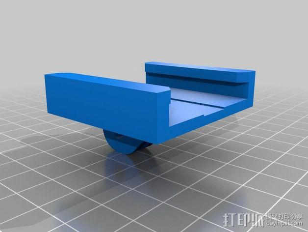 GoPro衔接器 3D模型  图4