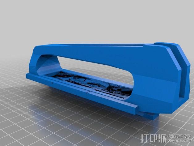 sony SAL70200G手柄 3D模型  图4