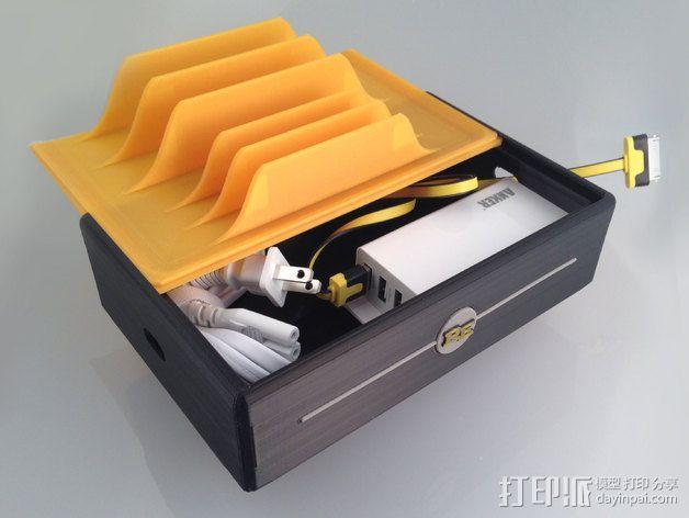 充电站 3D模型  图11