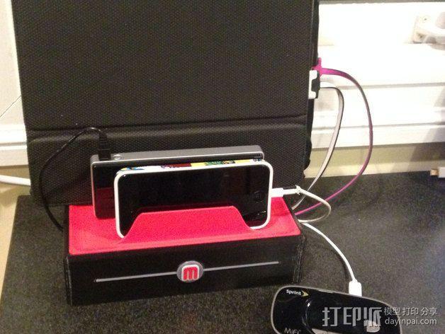 充电站 3D模型  图15