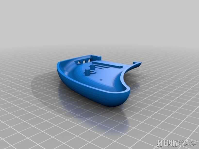EmuDroid 4游戏机外壳 3D模型  图2