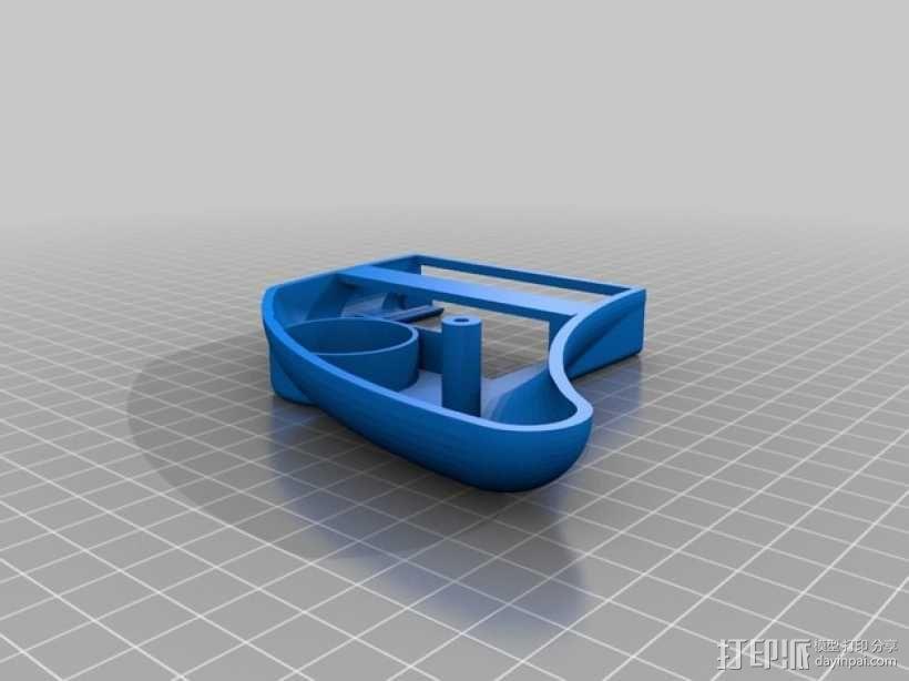 EmuDroid 4游戏机外壳 3D模型  图3