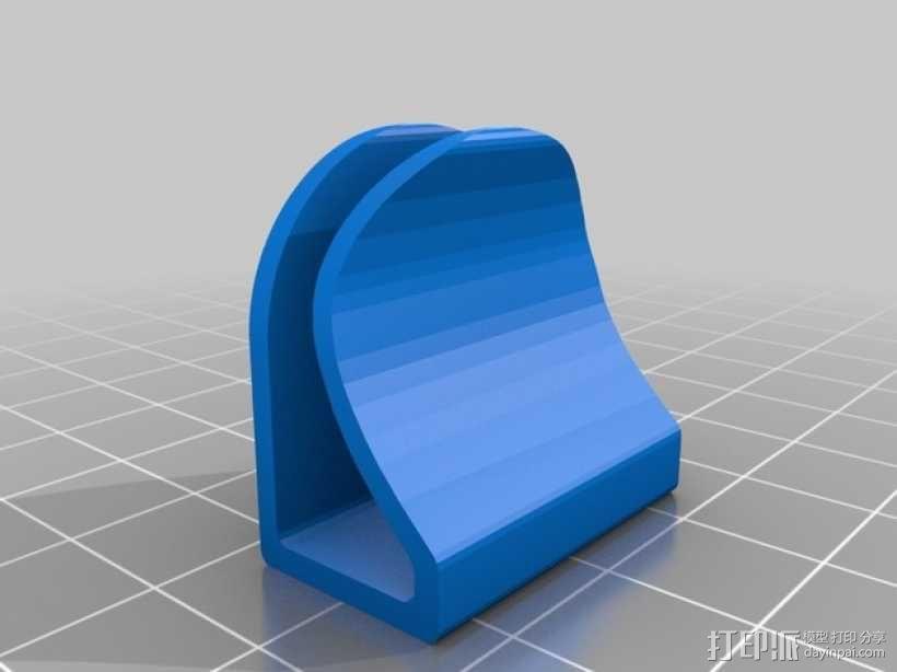 摄像头遮挡器 3D模型  图3