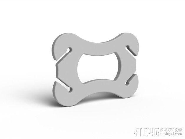 绕线器 3D模型  图1