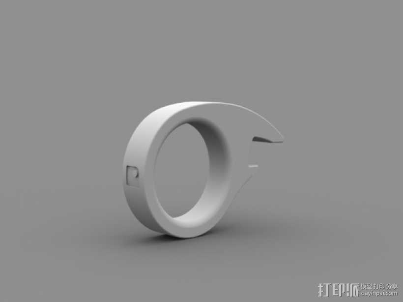 鱼眼开瓶器 3D模型  图3