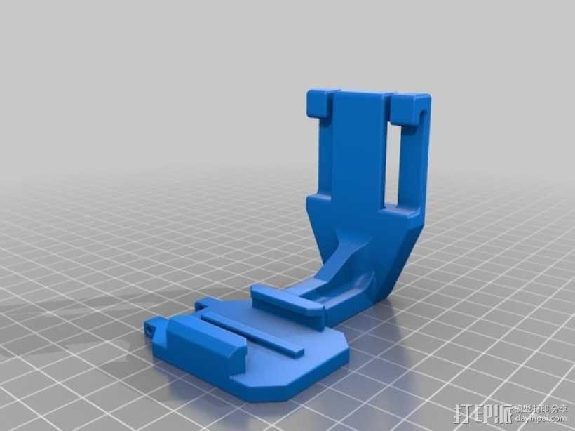 GoPro潜水配件 3D模型  图1