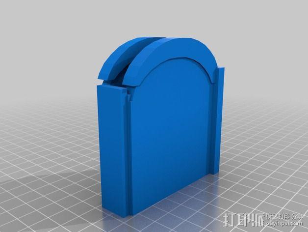 iphone唱片机 3D模型  图2