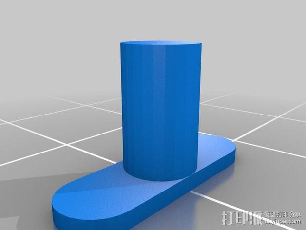 Galaxy Note 3 摩托车支架 3D模型  图4