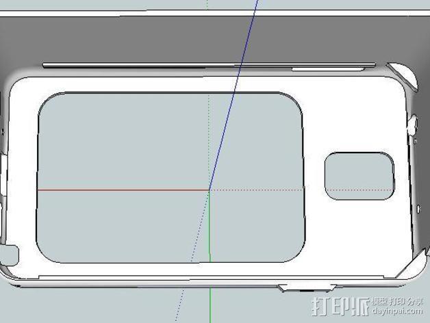 Galaxy Note 3 摩托车支架 3D模型  图7