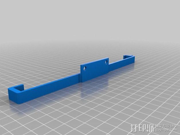 大型支架 3D模型  图2