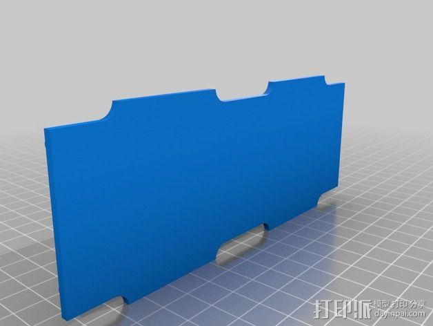 大型支架 3D模型  图4