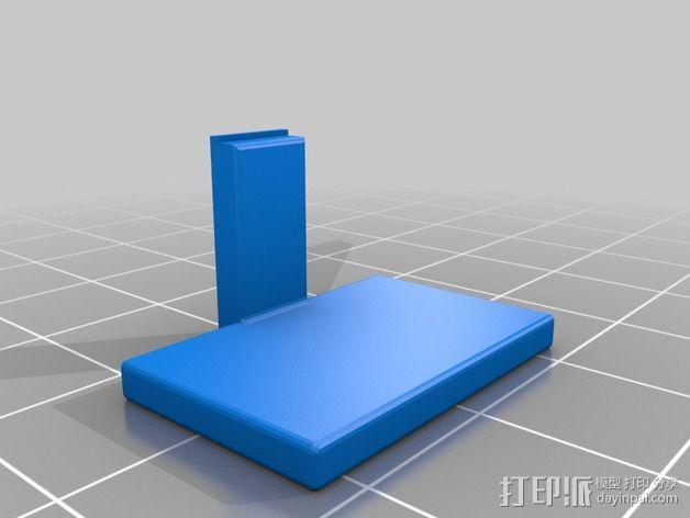闪光灯挡板 3D模型  图1