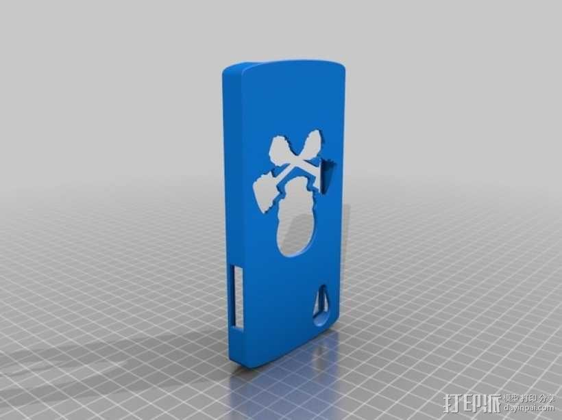 Nexus 5手机壳 3D模型  图1