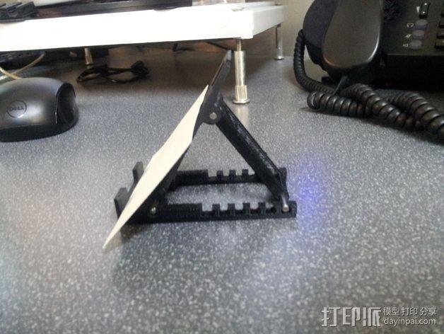 平板电脑支架 3D模型  图5