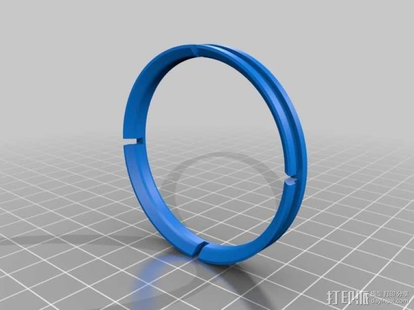 电缆保护器 3D模型  图2