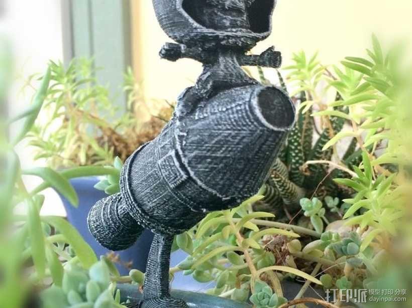 Kerbal Statue摆件 3D模型  图3
