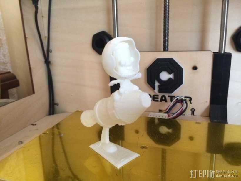 Kerbal Statue摆件 3D模型  图4