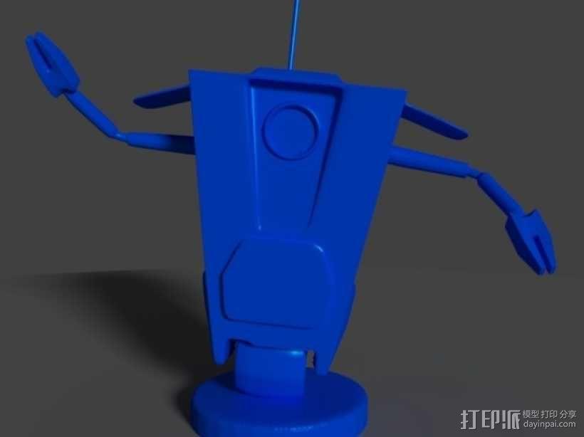 Art ClapTrap 摆件 3D模型  图1