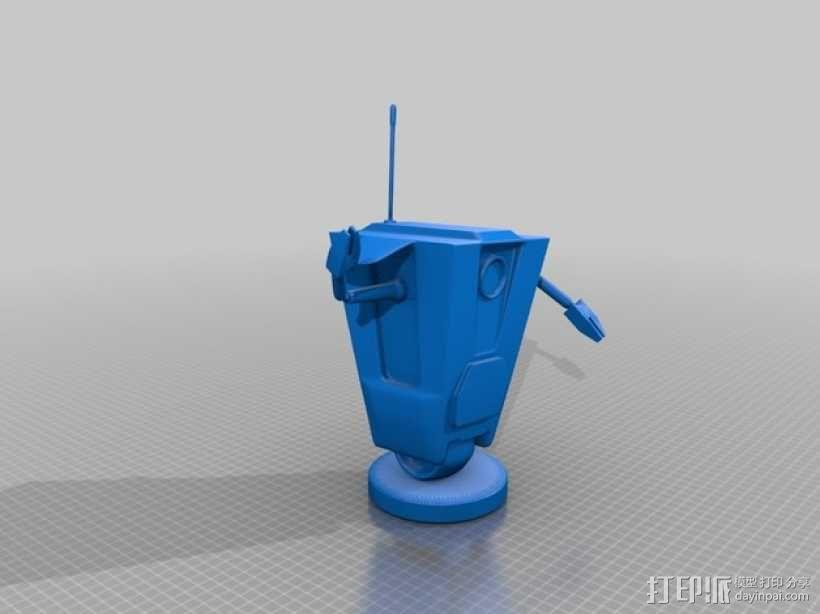 Art ClapTrap 摆件 3D模型  图2