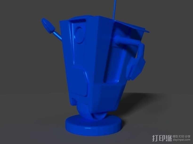 Art ClapTrap 摆件 3D模型  图3