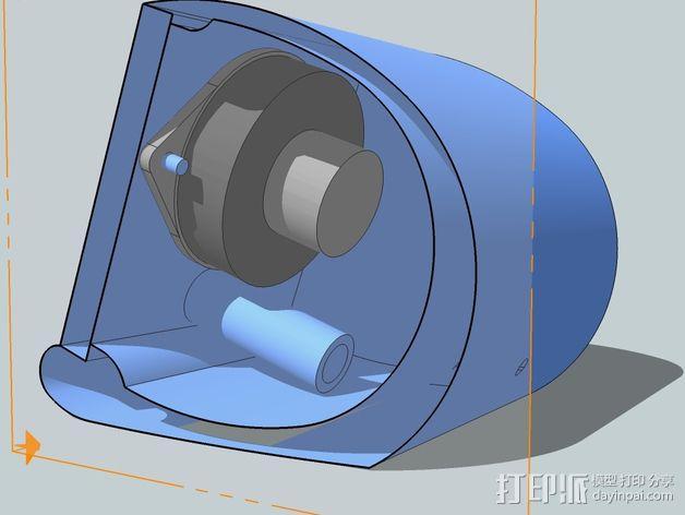 演讲者BF45 3D模型  图3