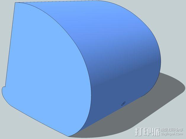 演讲者BF45 3D模型  图2