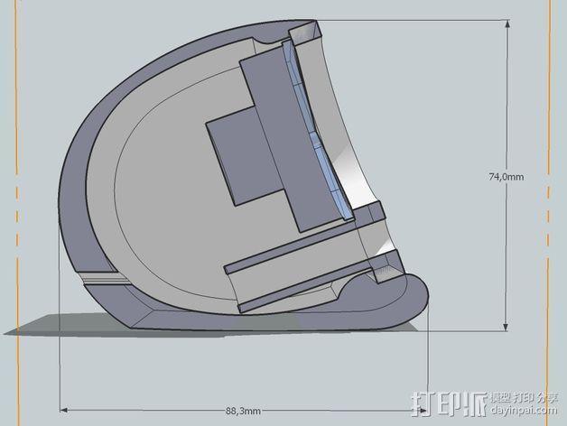 演讲者BF45 3D模型  图4