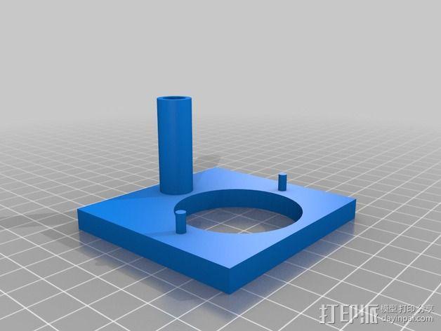 演讲者BF45 3D模型  图6
