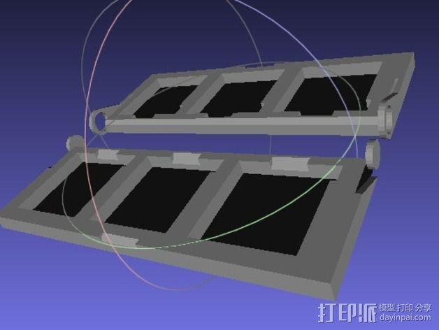 DS/3DS游戏机壳 3D模型  图3