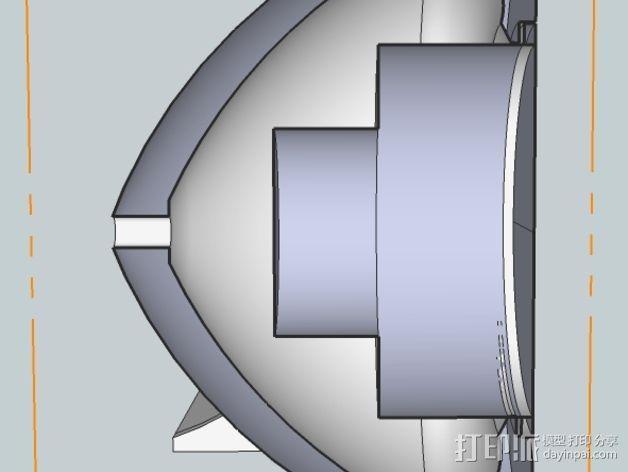 扩音器 3D模型  图6