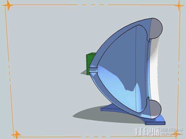 扩音器 3D模型  图5