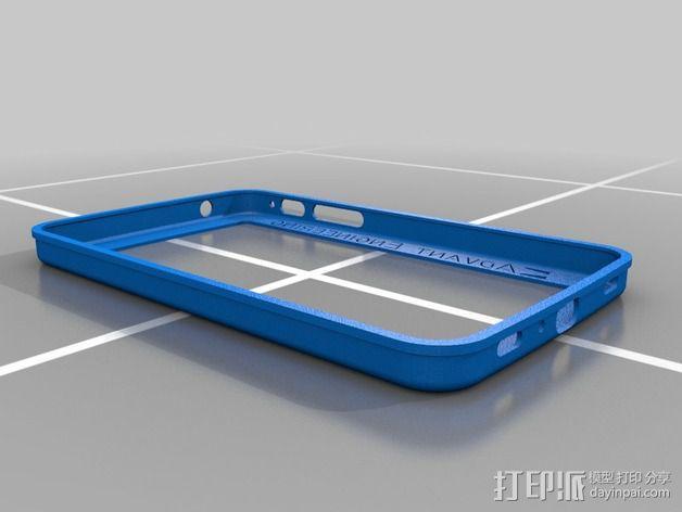 Samsung Galaxy tab手机壳 3D模型  图2