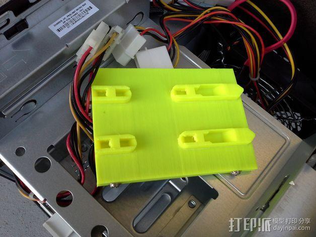 驱动器保护壳 3D模型  图2