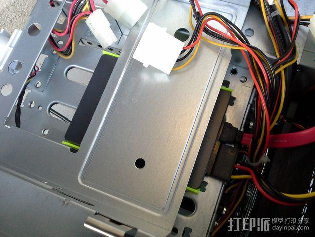 驱动器保护壳 3D模型  图4