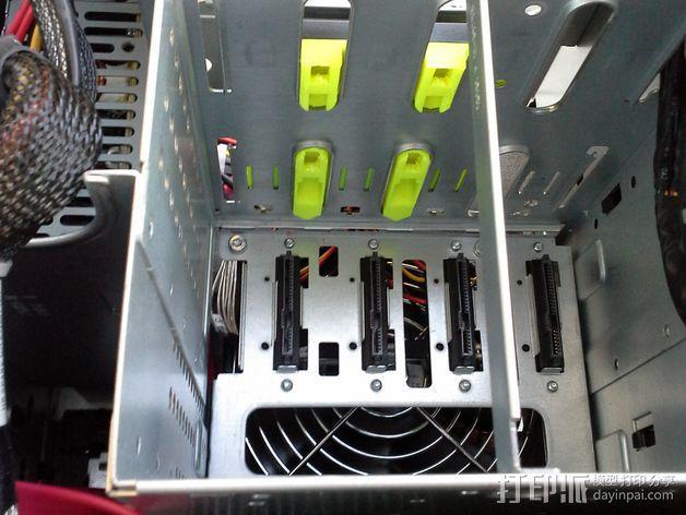 驱动器保护壳 3D模型  图5