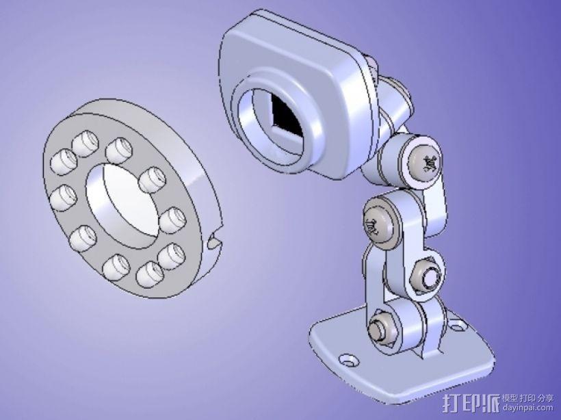 照相机支架 3D模型  图1