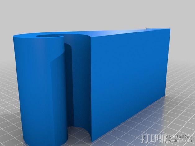 弧形手机座 3D模型  图5