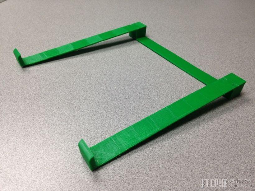 笔记本支架 3D模型  图1
