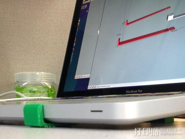 笔记本支架 3D模型  图4