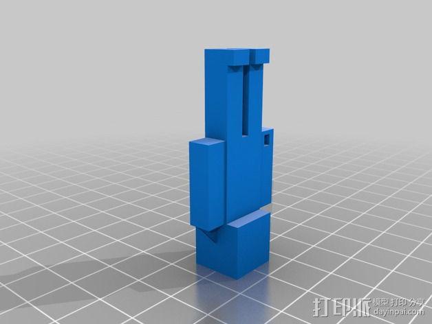 Minecraft Steve摆件 3D模型  图1