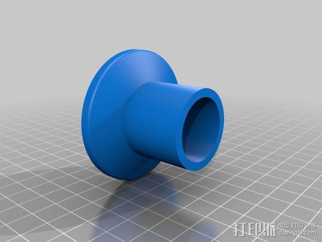 尼康单反相机适配器 3D模型  图2