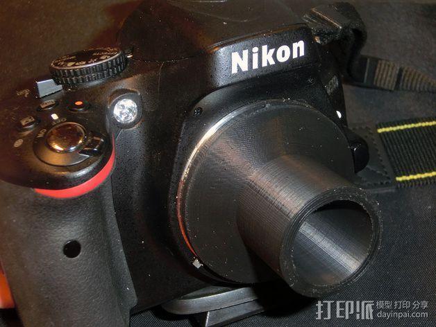 尼康单反相机适配器 3D模型  图4